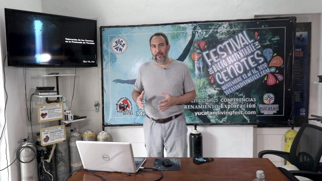 Valoración de los cenotes de la Península de Yucatán – PhD. Ilan Vit